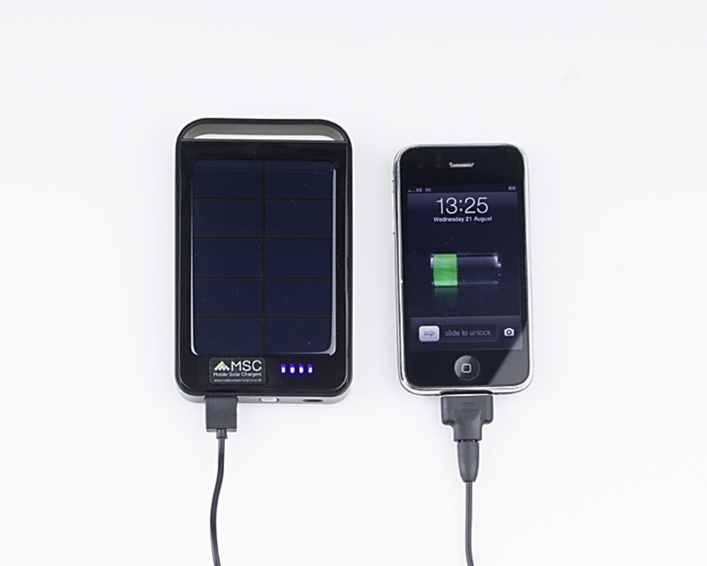 Executive Solar Charger Plus 6000mah 3 Phone Charges