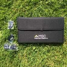 MSC 18W 5v usb Portable Solar Panel Charger 2.A (4-6 phone charges a day)