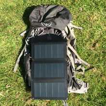 MSC Expedition lightweight ETFE CIGS 10W folding solar charger