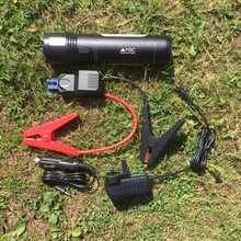 MSC Overland Torch & 12v Jumper 10,000mAh QC Power Bank