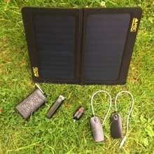 MSC Travel and Trek 13W Solar Panel Charger, 10,000/2600mAh Power Banks, 2 x Led Light, Torch £35 off
