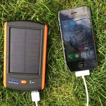 MSC Travel Solar Charger 6000mAh (2 + phone charges)