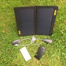 MSC Weekend Camping 13w Solar, 2 x Power Banks, 2 x LED light, £20 Saving