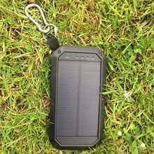 W/E 1.5W Solar Charger triple USB 8000mAh (4 phone charges)