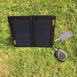 MSC 13W Premium SunPower folding Solar Panel Charger 5v/2.A dual USB