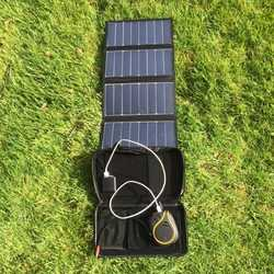 MSC 26w SunPower 5v/12v folding solar panel