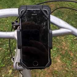 MSC Bike and Motorbike phone charger cradle & detachable 8Ah Power Bank