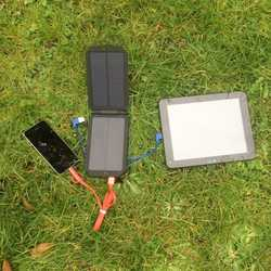 MSC Camping 3W 7000mAh Solar Charger