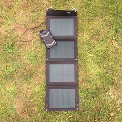 MSC Expedition 20W 5v USB CIGS ETFE Lightweight Folding Solar Charger