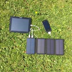 MSC Qi Wireless 5W Solar power bank 12,000mAh