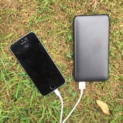 MSC Slim Quick Charge 10,000mAh/20,000mAh Power Bank (4-8 charges)