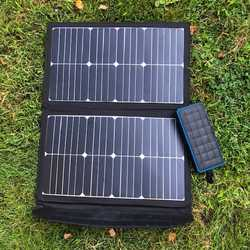 MSC SunPower 45W USB 5v, 12v, 19v Portable Solar Panel Charger