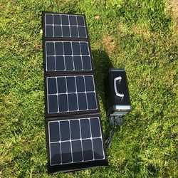 MSC SunPower 65W USB 5v, 12v, 19v Portable Solar Panel Charger
