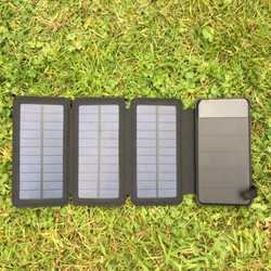 MSC Travel 8000mAh Solar Charger | Detachable Power Bank