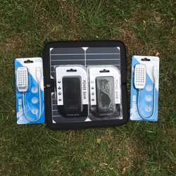 MSC Weekend Camping 10w/13w Solar, 2 x Power Banks, 2 x LED light, £10 Saving