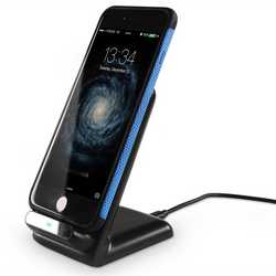 Qi Triple coil Wireless charging Stand