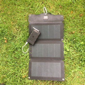 MSC Expedition 1oW CIGS Solar & Aqua Trek charger