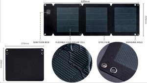 MSC Expedition CIGS flexible Solar panel