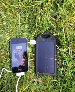 Travel + Solar phone charger