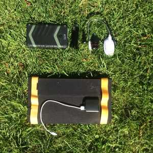 Aqua Trek + waterproof phone charger and 13w Solar panel