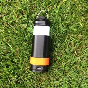 Mobile Solar Chargers Camping Lantern, Torch & Power Bank