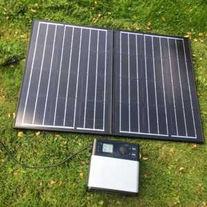 MSC 105Ah Super Power Bank and 100W Solar Panel
