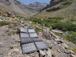 MSC 120W SunPower Folding Solar Andes