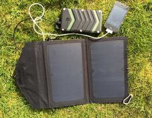 MSC 12w Folding Solar & Aqua Trek 18000mAh