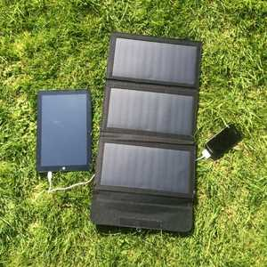 MSC 18w Folding Solar Panel and MSC Power Stick