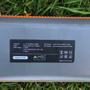 MSC 31Ah Super Power Bank Specs
