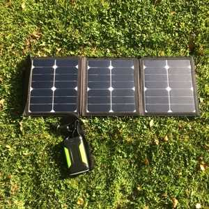 MSC 38Ah Super Power Bank & optional 45W Solar panel