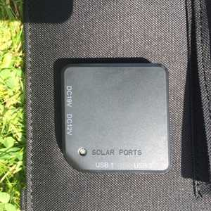 MSC 40w Solar panel charger