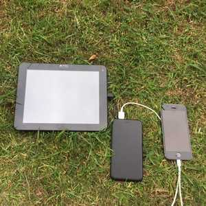 MSC 5000mA Slim charging iPhone and Tablet