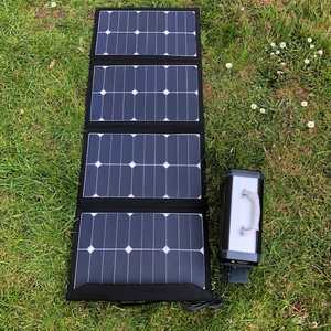 MSC 90W SunPower Folding Solar & 300W Super Power bank