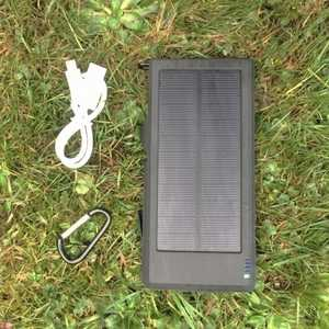 MSC Camping + QC Solar Charger 12000mAh & iPhone