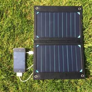 MSC Camping + solar phone charger