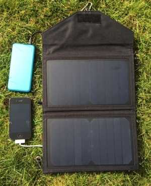 MSC Power Bank & 12W Solar Panel