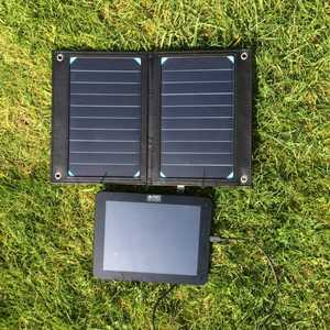 MSC Premier 10w Solar Phone charger and Tablet