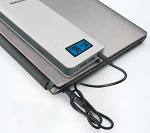 MSC QC  15000mAh dual usb Power Bank Notebook Charger