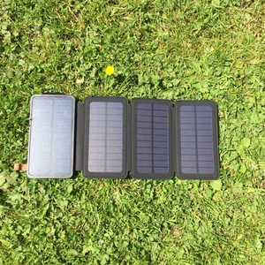 MSC Qi Wireless Solar power Bank 12Ah