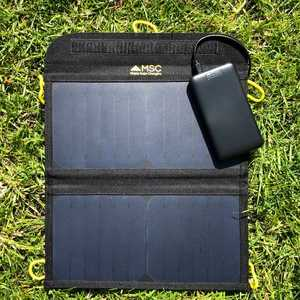 MSC Slim 10,000mAh & 13W Solar Panel