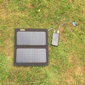 MSC Slim 10,000mAh & optional 13W Solar Panel