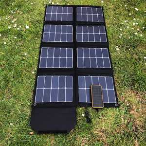 MSC SunPower 130W charging Overland +
