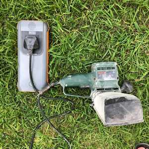 MSC Super Power Bank 31Ah & Bosch Sander