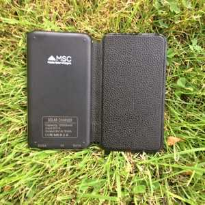 MSC Travel 3w Solar Charger