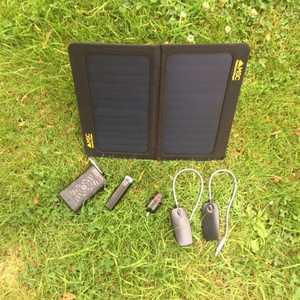 Msc 13w Sunpower Folding Solar Panel Charger 5v 2 A Dual Usb