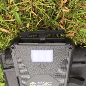 MSC Travel + detachable solar power bank