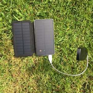 Travel solar phone charger