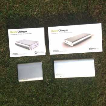 QC Qualcomm 2.0 Quick Charge 10,000 or 20,000mAh Power Bank