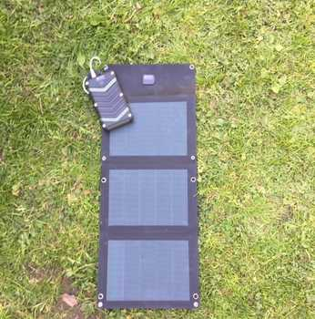 MSC Expedition 12W/15W CIGS ETFE Lightweight Folding Solar Charger